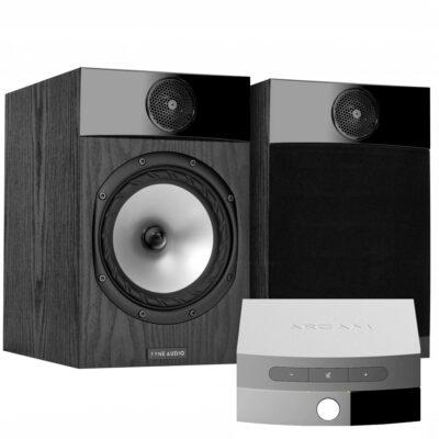 Fyne Audio F301 hangfal és Arcam Solo Uno erősítő szett Gedeon