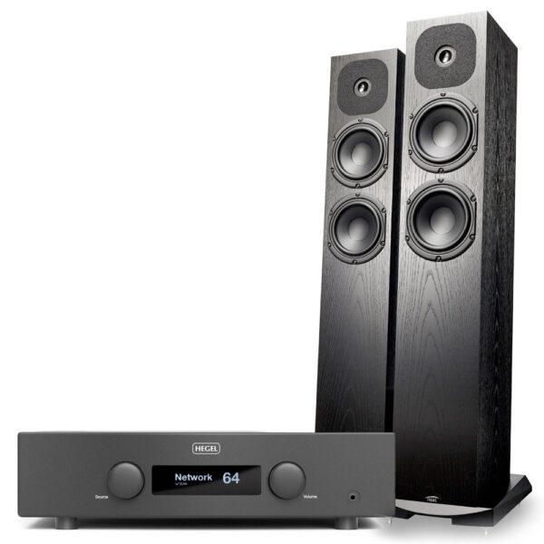 Hegel H190 erősítő és Neat Acoustics SX1 hangfal szett Gedeon Studio
