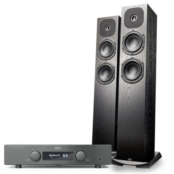 Hegel H95 erősítő és Neat Acoustics SX1 hangfal szett Gedeon Studio