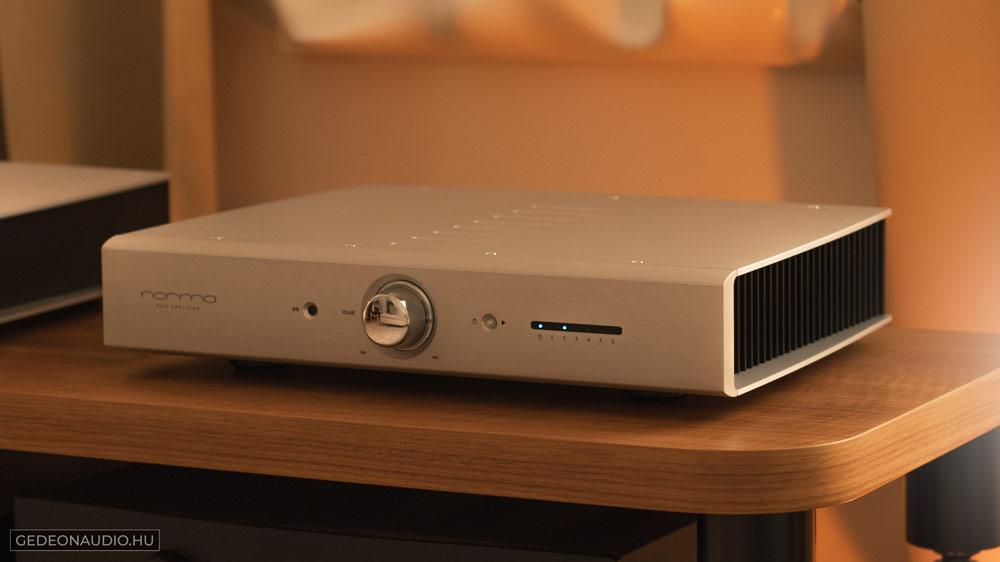 Norma Audio Revo IPA-70B erősítő teszt Gedeon Audio