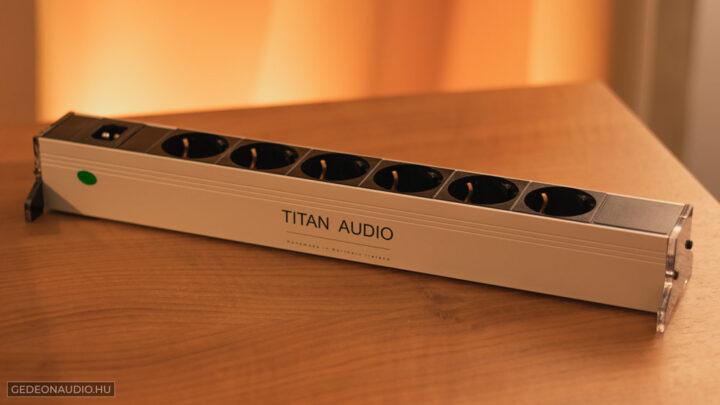 Titan Audio Nyx elosztó teszt Gedeon Audio