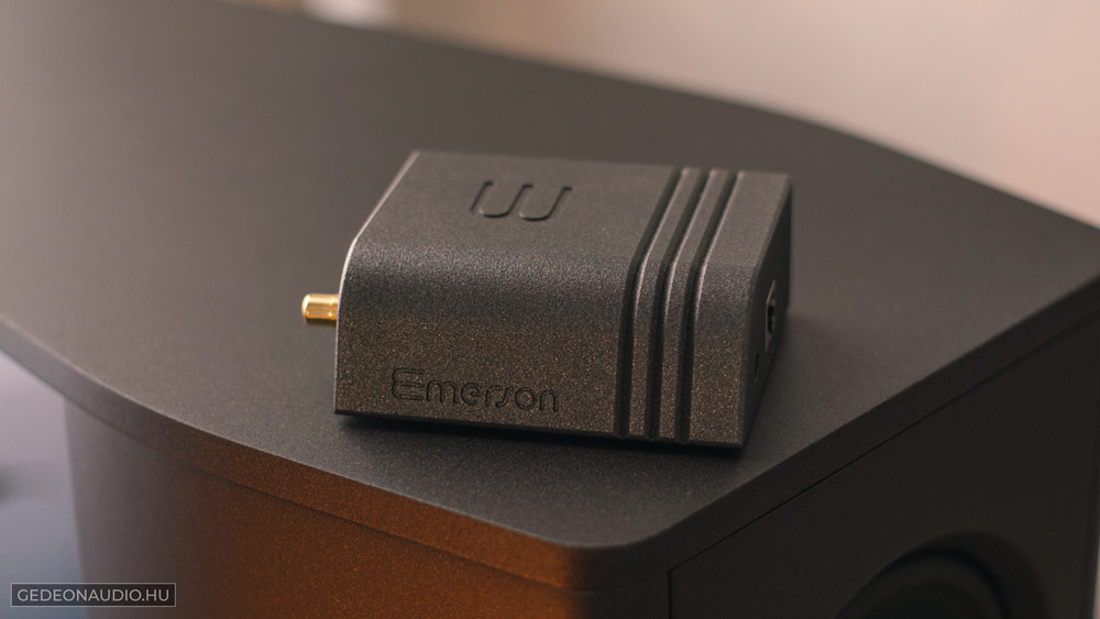Wattson Audio Emerson ANALOG streamer lejátszó Gedeon Audio
