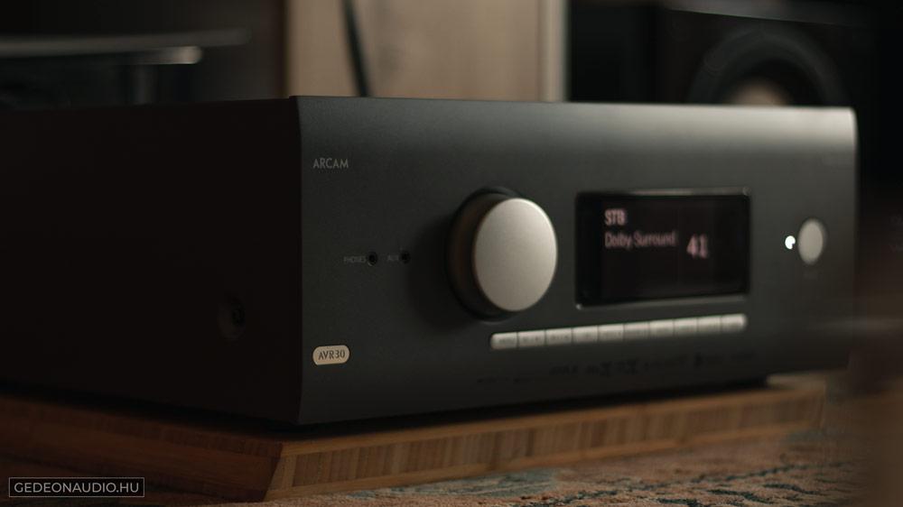 Arcam AVR30 erősítő teszt Gedeon Audio