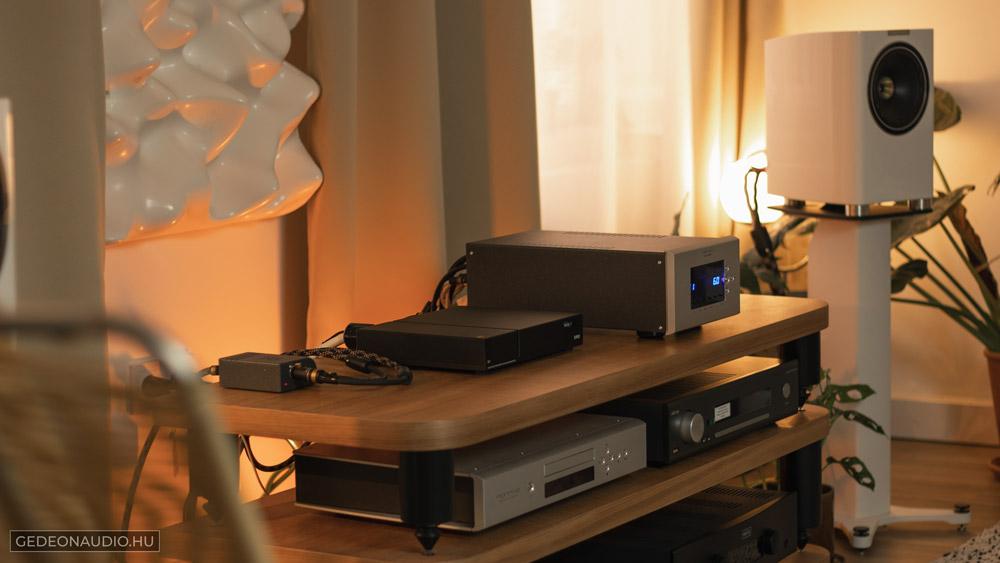 Fyne F700 hangfal, Norma HS IPA1 erősítő, Wattson Emerson DIGITAL streamer, VMV D1 DAC teszt Gedeon Audio