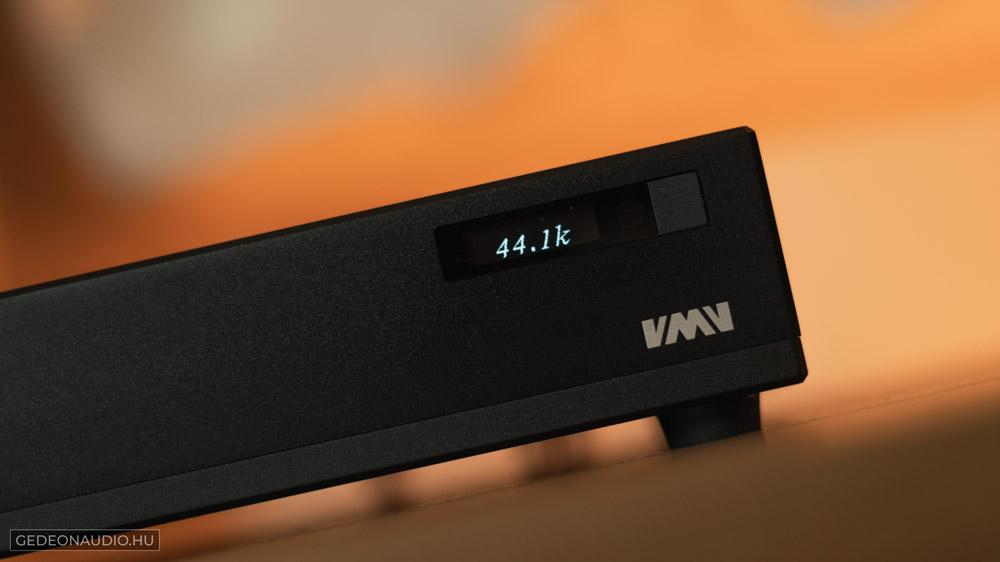 VMV D1 DAC teszt Gedeon Audio