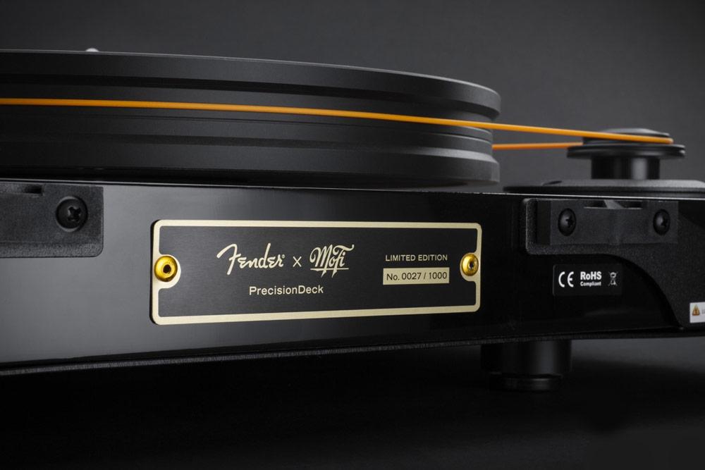 Mofi Fender lemezjátszó Gedeon Audio